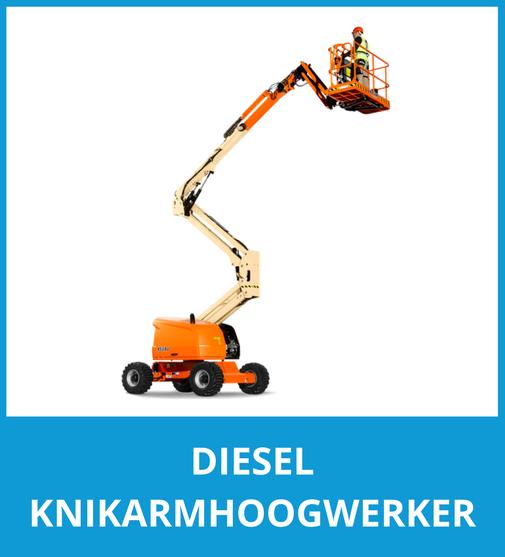 Diesel Knikarmhoogwerker