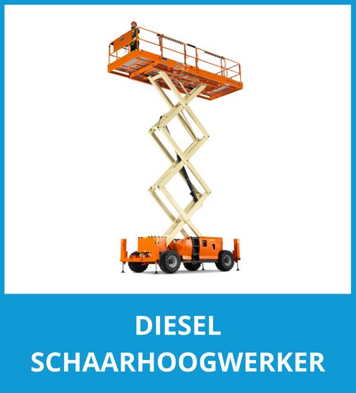 Diesel schaarhoogwerkers
