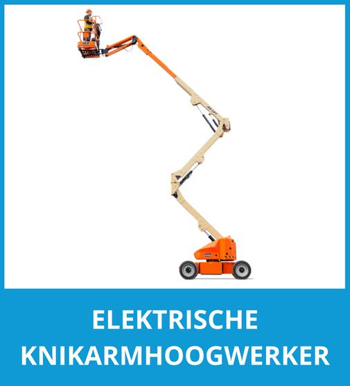 Elektrische knikarmhoogwerker