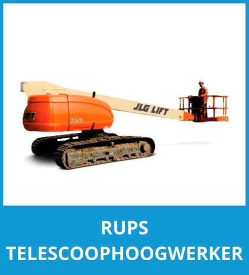 Rups telescoophoogwerker