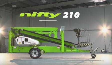Aanhangerhoogwerker Nifty 210